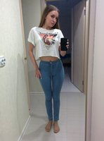 Wholesale 100 Good Feedback Spring Skinny Jeans Woman High Waist Jeans Femme Stretch Women s Pants Denim Women Jeans Trousers For Women