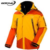 Wholesale Winter Outdoor Snowboard Men Jacket Mountaineer Hiking Sports Winter Rain Ski Waterproof Windbreak Hunting Camping Coat