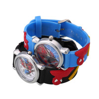 batteries movie - New Color Cute Quartz Watches Cartoon Movie Charater Child Rubber Analog Wrist Watch Men Women Gift For Children Kids Boys