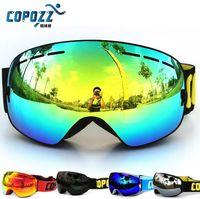 Wholesale COPOZZ Brand UV400 ski goggles snowboard goggles GOG201