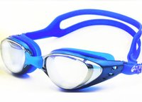 Wholesale 2015 New anti fog anti ultraviolet swimming goggles men and women unisex coating swimming glasses adult goggles DHL free shippping