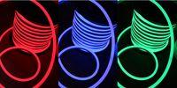 Wholesale FEDEX m spool flexible led neon lights v v led m led neon flexible tube soft hose decoration strip multi colors