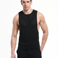adult tank tops - Fishnet Casual Sleeveless Black Sports Vest for Men Mesh Gay Sexy Lingerie Erotic Top Adult Party Costume Fetish Dress Sex Wear