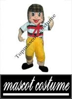 Wholesale real picture high quality El chavo del ocho Mascot Costume Custom Fancy Costume Anime Kits Mascotte Theme Fancy Dress Carnival Costum