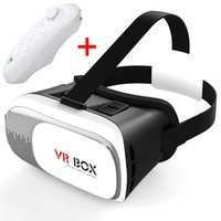 Wholesale 40X VR Box Gamepad Virtual Reality D Glasses Helmet VR BOX Headset For Smartphone inch inch with Retail Package A XY