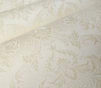 beige wallpaper - French Papel De Parede Roll Beige White Pink D Floral Damask Vinyl Wallpaper Mural For Livingroom Bedroom Wallcovering M
