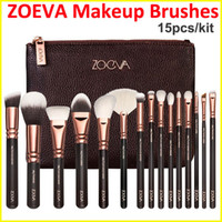 Wholesale ZOEVA Makeup Brush kit ROSE GOLDEN Professional Luxury Set Face and Eyeshadow Make Up Tools Kit ZOEVA Powder Blending brushes