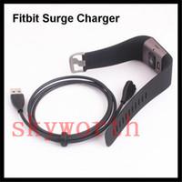 achat en gros de puissance usb surtension-3.3ft 100cm USB Chargeur de charge Cordon Charge pour Fitbit Surge Wireless Wristband Bracelet