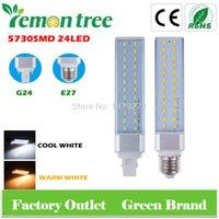 New G24 E27 ampoule de maïs Lampe LED 10W SMD 5730 Blanc Chaud Froid LED blanc Spotliht Avec CE Rohs Approbation