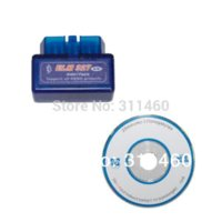 Wholesale MINI ELM327 Bluetooth OBD2 V2 blue color new scan super mini elm scan tool