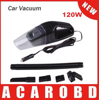 auto hepa filter - 120W Portable Car Vacuum Cleaner Wet And Dry Dual Use Auto Cigarette Lighter Hepa Filter V Black