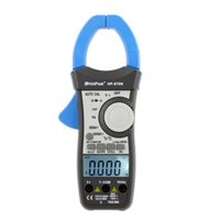 Wholesale 1000A RMS Auto Range Capacitor Temperature Counts w Dual LCD Backlight Multimeter HoldPeak HP N Digital Clamp Meters