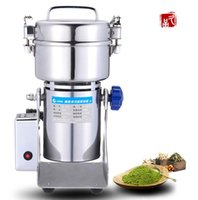 Wholesale Stainless steel swing pulverizer chinese medicine grinder powder machine to play high speed pulverizer gristmill g