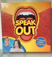 Wholesale Speak Out Game KTV Party Game Cards For Party Christmas Gifts Newest Best Selling Toy With Retail Box PPA467