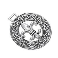 fleur de lis - My Shape Pendant Jewelry Series Fleur De Lis Pendant with knotwork Charms For Neckalces Bracelets Earrings for Man and Woman