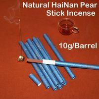 bamboo origin - 10g barrel high quality Authentic Pure HaiNan Pear incense stick with pc bamboo board tray Origin hainan island of china