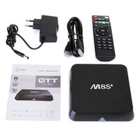 Wholesale Factory M8S M8S Plus Android5 TV Box Bluetooth4 Amlogic S812 Quad Core Wifi GB GB H HD