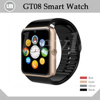 age health - GT08 Bluetooth Smart Watch With SIM Card Slot NFC Health Watchs For Android Samsung and IOS Iphone Smartphone Bracelet Smartwatch In Box