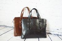 Wholesale New Arrival Business Portable Hight Quality Message Commercial Briefcase Laptop Bag Leather Men Bags