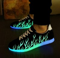 animals have fur - Led Luminous Shoes Casual Shoes Led Shoes For Women Men Fashion LED Lights Up Shoe For Adult Chaussure Lumineuse