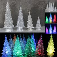 article chocolate - Christmas Articles New Pattern Mini LED Christmas Tree Luminescence Colorful Night light Christmas Tree