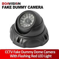 Wholesale Outdoor Indoor dome Dummy Camera Flash Ir LED Security Camera Fake CCTV Surveillance