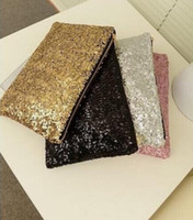 Wholesale 2015 New Fashion Style Sparkle Spangle clutch purse evening bags Ladies handbags totes Colors