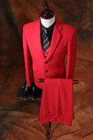 best photo vest - 2017 Real Photo Slim Fit Groom Tuxedos Brand New Groomsmen Styles Best Man Suit Bridegroom Wedding Prom Dinner Suits Jacket Pants Vest