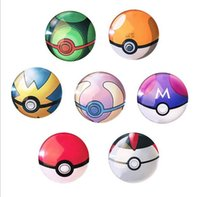 Wholesale pokemo n go Fridge Magnet Cute Cartoon Fashion Crystal Glass Fridge Magnets Funny Refrigerator Toy NEW