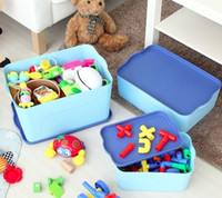 Wholesale Multifunction Small Medium Large Storage Bin for Toys Storage Box for clothes Stationeries Cosmetics Organizer