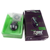 Wholesale 2016 New Razer Death Adder Mouse DPI Competitive Games Optical mouse for Game Computer Mouse With retail packing free ship