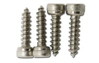 Metalworking angle tap - Six self tapping screw self tapping screw angle model of sound M2 nail in stainless steel