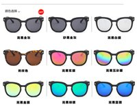 baby restore - 2016 baby sunglasses tide restoring ancient ways T han edition shades dazzle colour reflective sunglasses sunglasses