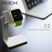 Wholesale ROCK Table Stand for Apple Watch Charging display stand for smart watch stent Metal showing shelf Desktop pedestal