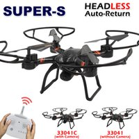 Wholesale SUPER S RC Drone C with HD Camera Professional G Remote Control Quadcopter Toy Helicopter Dron without Camera
