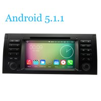 Wholesale Sd Tape Player - Car DVD Player Android 5.1.1 Tape Recorder RDS Radio Wifi SWC BT TV SD For BMW 5 7 Series E39 X5 Range Rover