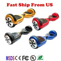 Wholesale Two Wheels Fast Shipping Electric Unicycle Scooter Scooter Smart Balance Scooter Two Wheels Balaning Scooters Fashion Balance Scooters