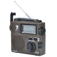 Wholesale Tecsun GR Digital Radio Receiver hand crank Emergency Light Dynamo Radio With Built In Speaker Tecsun Radio