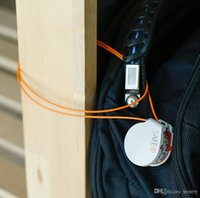 Wholesale 30pcs a bag Safe Microlock miniature lock password lock cm super tough protective rope anti theft locks cures pilfering Travel Essentials