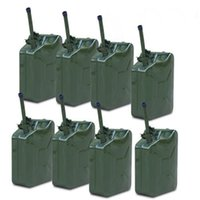 Wholesale Green L Gallon Backup Steel Tank Jerry Can Fuel Gas Gasoline Military Emergency Backup