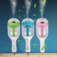 Wholesale Upgraded Version Car Steam Humidifiers with USB Post Air Purifier Aroma Diffuser Essential Oil Diffuser Aromatherapy Mist Maker Fogger