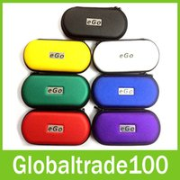 Wholesale eGo Carry Bag Case Colorful Small Middle Large Size For E cigarette atomizer Kits with Ego Logo