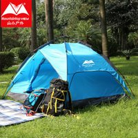 Wholesale New breadfruit speed automatic open tent outdoor person multiplayer automatic tent outdoor camping tent