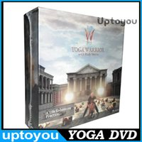 Wholesale Yoga Warrior with Rudy Mettia DVD Fitness Yoga Workout Weight Loss Program Finess DVD Freeship to CA TOP Quality