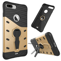 air bag fittings - Iphone Case Sniper Hybrid Cases Air bag shockproof Protective Case with Holder Cover for Iphone plus Samsung Note7