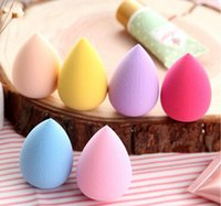 Wholesale Makeup Foundation Sponge Blender Blending Puff Flawless Powder Smooth Beauty Sponge Blender Puff Water Droplets Soft Makeup Sponge