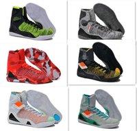 basketball fundamentals - 2016 hot sale new KB IX Elite Mens Basketball shoes Fundamental Sports Shoes Men Athletics Boots Trainers Men Sneakers