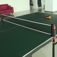 Wholesale New PE Portable Retractable Telescopic Table Tennis Net Rack Replacement Pingpong Kit Black Grey