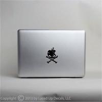 apple roofing - apple skull macbook pro skin iphone vinyl decal sticker Vinyl Diy Car Truck Decal Sticker decals