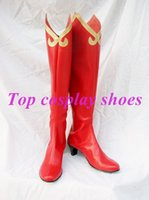 ace attorney - Phoenix Wright Ace Attorney Regina Berry Cosplay Shoes Boots Custom Made NC088 Halloween Christmas festival shoes boots
